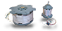 Electric motors for centrifuge applikation, up to 30.000min-1